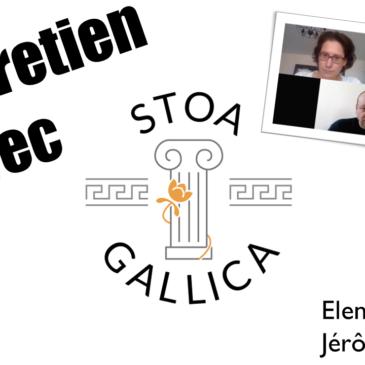 Un regard stoïcien rencontre Stoa Gallica